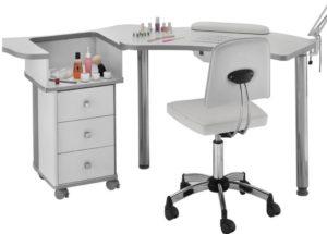 Выбор маникюрного стола для профессионального салона красоты.